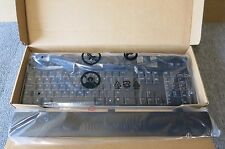 Dell U482D Black & Silver Slim Wired USB Multimedia Keyboard UK Layout New
