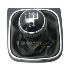 VW cuir Pommeau de levier de vitesses pour VW GOLF 5 V 6 VI JETTA SIROCCO III