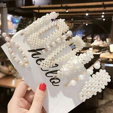 Pearl Hair Clip Barrettes 2020 Fashion For Women Handmade Hairpins Accessories