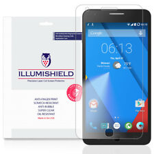 iLLumiShield Screen Protector w Anti-Bubble/Print 3x for Alcatel OneTouch POP UP