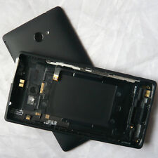 Genuine Black Battery Back Door Cover Case Full Housing Replacement For HTC 8X