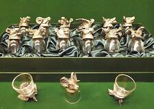 Animal Head shot glasses depicting the 12 chinese animal years