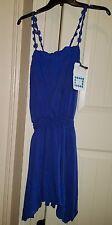 Chelsea & Violet Blue Eyelet Lace Sundress Dress Size XS NWT