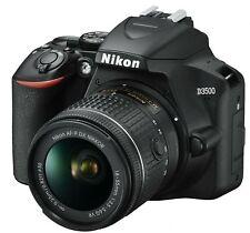 Nikon D3500 24,2 Mpx Fotocamera DSLR Kit con 18-55mm VR Obiettivo - Nera