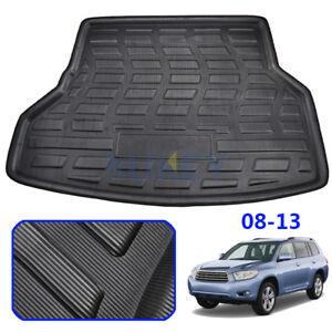 For Toyota Highlander Kluger 2008-13 Rear Trunk Cargo Mat Floor Tray Boot Liner