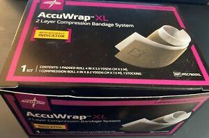 10 Medline Accuwrap XL 2 Layer Compress. Bandage System w/Accuracy Indicator NIB