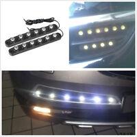 One Pair Hawkeye 6LED White Car Fog Lamp Driving Light 3M Strip For Honda Toyota
