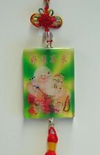 Feng Shui Chinese Crystal Buddha Children Charms