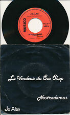 "JO ALAN 45 TOURS 7"" BELGIUM LE VENDEUR DU SEX SHOP"
