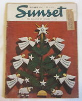 Sunset Magazine December 1948 Mid Century Landscaping Gardens Cooking Remodeling