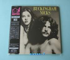BUCKINGHAM NICKS S/T JAPAN mini lp cd style with OBI brand new & still sealed