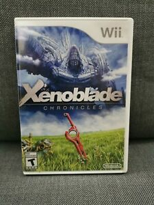 Xenoblade Chronicles (Nintendo Wii, 2012) *MINT DISC* - FREE CANADIAN SHIPPING!!