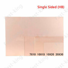HB Single Sided Copper Clad Plate PCB Circuit Board 7*10 10*15 10*20 20*30cm
