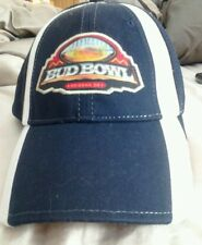 NEW Bud Bowl Baseball Cap Hat Adjustable Official Anheisur Product Arizona 08