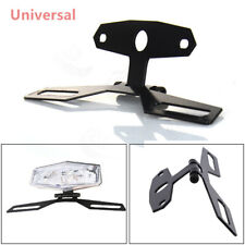 1PC Black Motorcycle Adjustable Flip Up License Plate Eliminator Bracket Holder