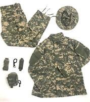US Army Gear Set Combat Uniform Coat Trousers Hat size Large Pouch Benchmade Lot