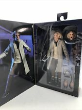 NECA Doc Brown 7 inch Action Figure - H856040 READ