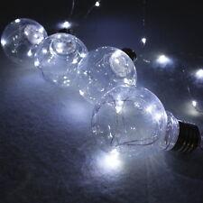 Guirnalda 4 bombillas led pilas decoración casa hogar fiestas Photocall cabecero