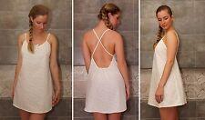 Women 100% cotton nightgown nightdress nightie uk 8 size S