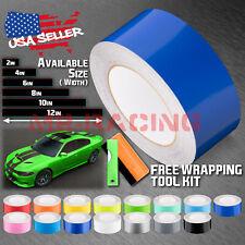 Gloss Color Racing Stripes Vinyl Wrap For Dodge Charger Stripe Sticker 25FT/50FT