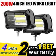 "2x 4""inch 18W LED Work Light Bar 4WD Offroad SPOT Pods Fog ATV SUV Driving Lamp"