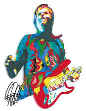 Billy Corgan, The Smashing Pumpkins, Guitar Player, Vocals, 8.5x11 PRINT w/COA