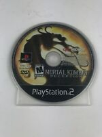 Mortal Kombat: Deception Disc Only NO BONUS DISC PS2 (Sony PlayStation 2, 2004)