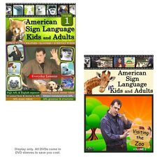 American Sign Language for Kids and Adults, Vol. 1-2 - (2-DVD Set)