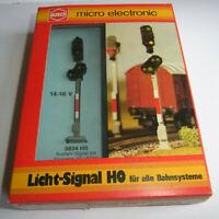 Busch HO 5834 Ausfahr-u. Vorsignal 10 LEDs-neuw-OVP-light signal +distant signal