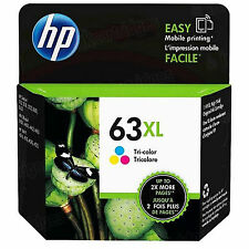 2017 Retail Box Genuine HP 63XL Color F6U63AN Ink ENVY 4520 All-in-One Printer