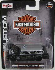 `55 Chevrolet Nomad  Flames Custom 1955 **MAISTO Harley Davidson 1:64  **SALE**