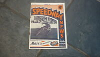 OLD MOTOR RACING MOTORCYCLE MAGAZINE, SPEEDWAY NEWS 1948 JULY 1