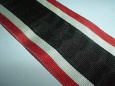 MEDAL RIBBON-GERMAN/GERMANY KNIGHTS CROSS NECK RIBBON 48X500 FOR WAR MERIT CROSS