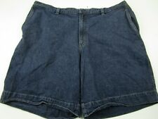 Mens Columbia Size 44 Medium Blue 100% Cotton Denim Jean Shorts Jorts