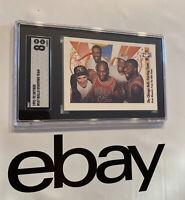 Michael Jordan SGC 8 Chicago Bulls Dance Skybox Collector Card 1991 Man Cave NR