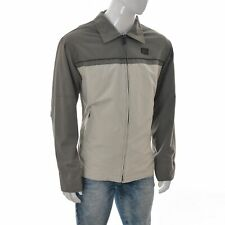 LE Frog Casual Mens Full Zip Work Wear Outdoor Shirt Jacket Size XXL Two-Tone