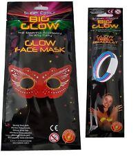 Festival/Camping Bundle - Glow Triple Bracelet and Glow Face Mask