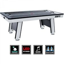 """84"""" Air Powered Hockey Table with LED Touch Screen Scorer Indoor Game Sports New"""