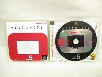 NAMCO MUSEUM VOL.5 PS1 Playstation Japan Game p1