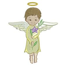 ANGELIC ANGELS - 10 MACHINE EMBROIDERY DESIGNS - 2 SIZES - IMPCD15