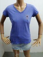 Maglia AERONAUTICA MILITARE donna taglia size M woman maglietta shirt P 5674