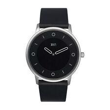 Elegante Unisex Quarz-Armbanduhren (Batterie) mit Armband aus echtem Leder