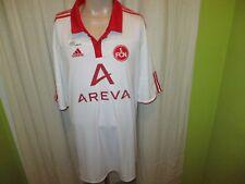 """1.FC Nürnberg Original Adidas Auswärts Trikot 2010/11 """"AREVA"""" Gr.XXXL"""