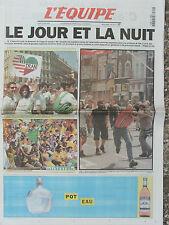 L'Equipe du 22/6/1998 -  Foot : lncidents à Lens -