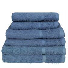 Draps de bain de salle de bain bleu pour salle de bain