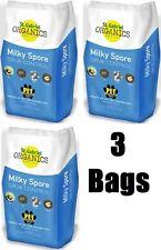 (3) bags St Gabriel Organics 80080-2  20 lb Milky Spore Lawn Grub Control