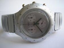 """Swatch Aqua-Chrono-flex """"Silver"""" + artículo nuevo + - l -"""