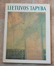 "1976  Soviet Lithuanian book reproductions  Lithuanian artists ""Lietuvos Tapyba"""