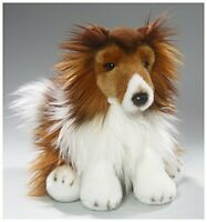 Rough Collie dog 10 inches, 25cm, Plush Toy, Soft Toy 3345