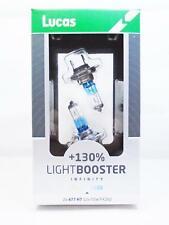 Lucas H7 477 Car Headlight Bulbs 130% Upgrade Bulb Lamps 499 PX26D 12v 55w